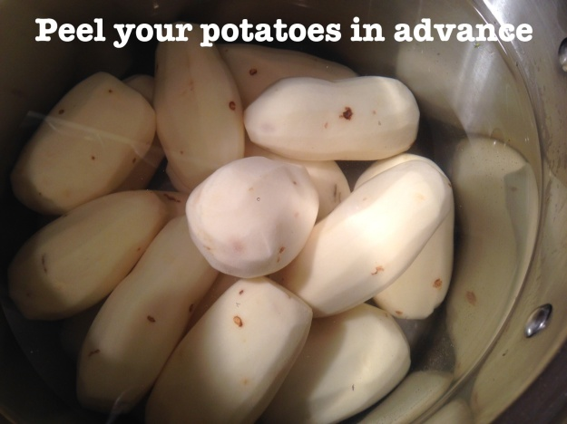 Peel Your Potatoes