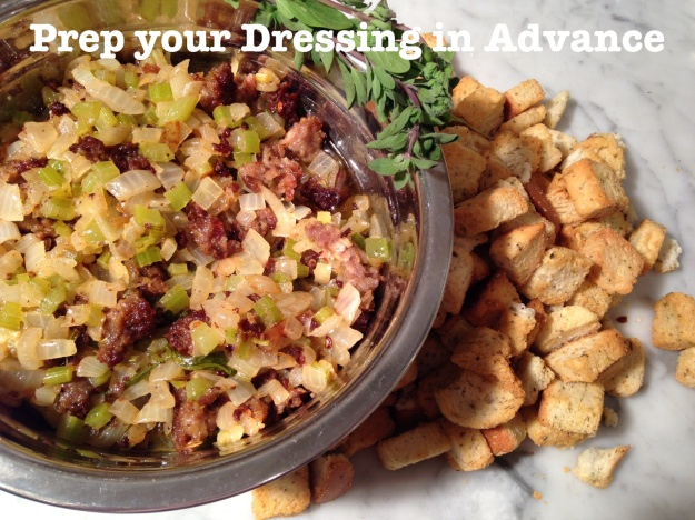 Prep your Dressing