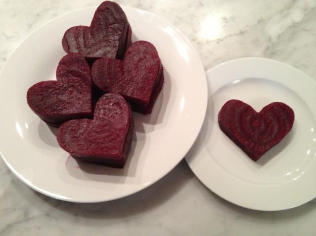Beet Hearts