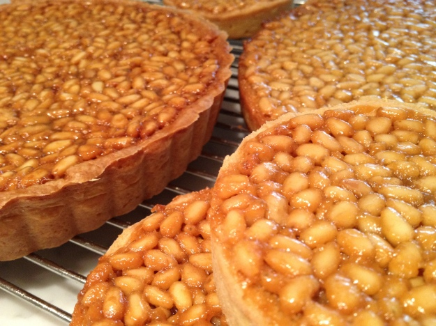 Honey Pine Nut Tart